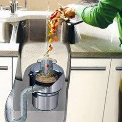 Установка измельчителя пищевых отходов в Новоалтайске, подключение утилизатор пищевых отходов в г.Новоалтайск